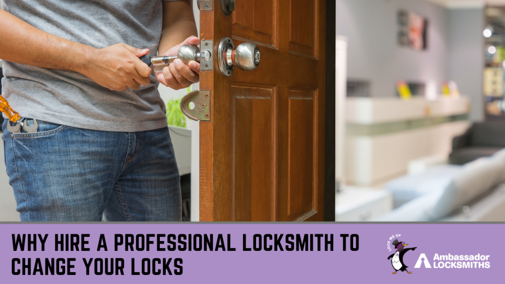 Changing Locks: A Must When Moving into a New House -