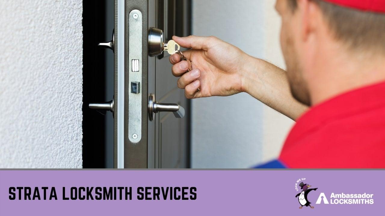 Strata Locksmith Services